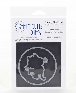Crafty Cutts Die: Lollipop Kitty IAD-016