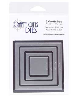 Crafty Cutts Die: Square Lift-Up Flaps IAD-013