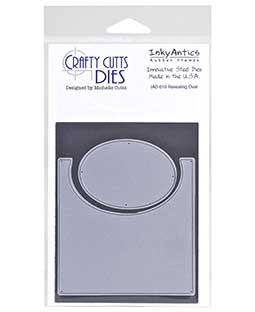 Crafty Cutts Die: Revealing Oval IAD-010