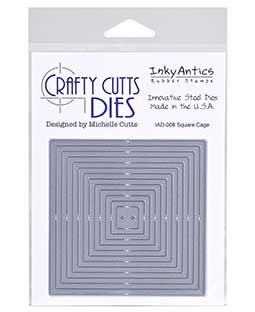 Crafty Cutts Die: Square Cage IAD-008