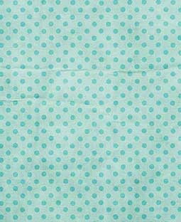 "Dotty Turquoise 12"" x 12"" Printed Paper - PTW013"