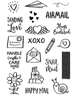 Envelope Elements Clear Stamp Set - 11356MC