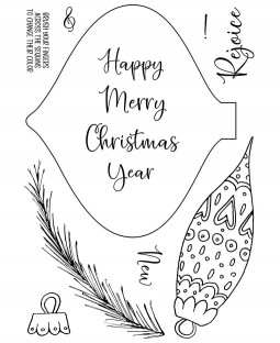 Ornament Clear Stamp Set: 11473MC