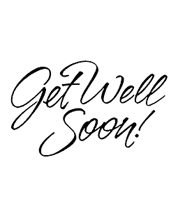 Rob Leuschke Get Well Wood Mount Stamp J2-57097F