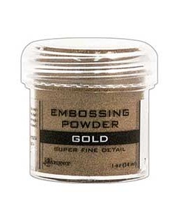 Gold Super Fine Detail Embossing Powder - EPJ37408