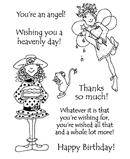 Birthday Wishes Clear Stamp Set 11181MC