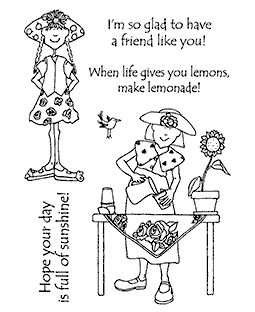 Lemonade Time Clear Stamp Set 11184MC