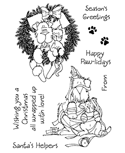 Preparing for Christmas Clear Stamp Set - 11275MC