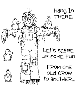 Scarecrow & Friends Clear Stamp Set - 11065SC
