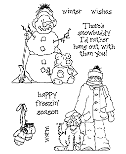 Winter Pals Clear Stamp Set - 11277MC