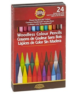 Koh-I-Noor Woodless Colored Pencils - FA8758-24