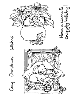 Christmas Kitties & Pups #1 Clear Stamp Set- 11269MC