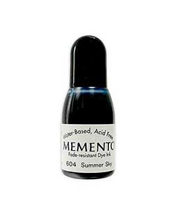 Memento Dye Ink Reinker: Summer Sky - MR604