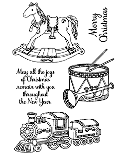 Christmas Toys Clear Stamp Set 11262MC