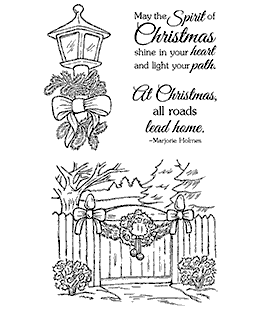 Decorated For Christmas Clear Stamp Set 11210MC