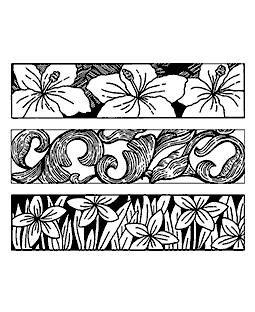 Flowers & Flourishes Cling Mount Stamp Set CLS-004