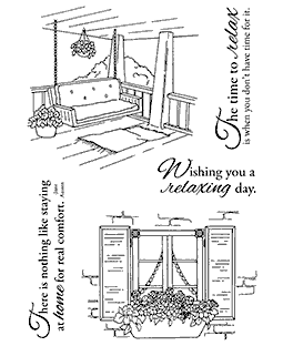 Home Sweet Home Clear Stamp Set 11178MC