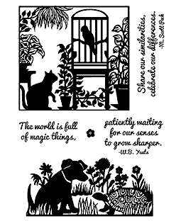 Pet Pairings Clear Stamp Set 11223MC
