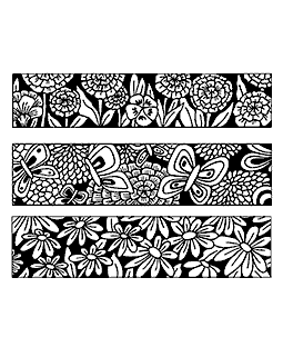 Small Blooms & Butterflies Cling Mount Stamp Set CLS-003