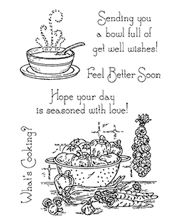 Soup Time Clear Stamp Set 11146MC