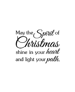 Spirit of Christmas Wood Mount Stamp E1-1545E