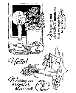 Still Life Scenes Clear Stamp Set 11133MC