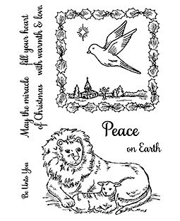 Wishing Peace Clear Stamp Set 11263MC