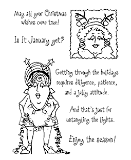 Festive Worldly Women Clear Stamp Set 11143MC