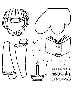 Angel Maker Clear Stamp Set 11389SC