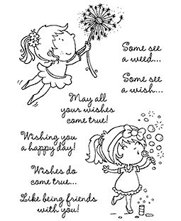 Bubbles & Wishes Clear Stamp Set - 11323MC
