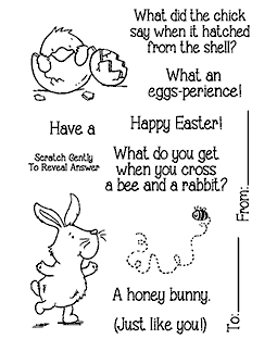 Easter Riddles #1 Clear Stamp Set - 11336MC