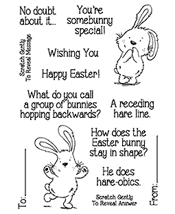 Nicola Storr Easter Riddles #2 Clear Stamp Set - 11337MC