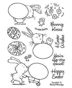 Egg-cellent Bunnies Clear Stamp Set - 11398MC