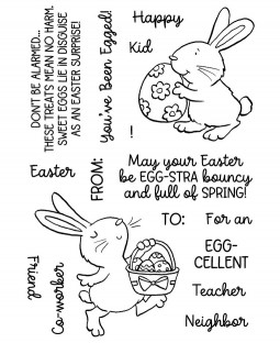 Eggy Bunnies Clear Stamp Set - 11494MC