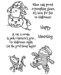 Hauntingly Fun Clear Stamp Set - 11318MC