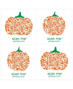 Penless Sticker Pack: Pumpkin PEN025
