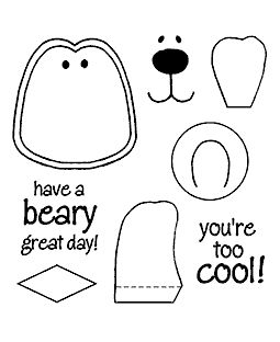 Polar Pal Maker Clear Stamp Set 10940SC