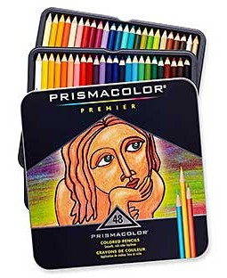 Prismacolor Premier Colored Pencils: Set of 48 - SF3598