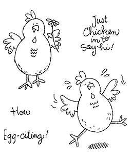Celebrating Chicks Clear Stamp Set 11287SC