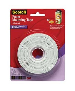 Scotch Foam Mounting Tape - 4013