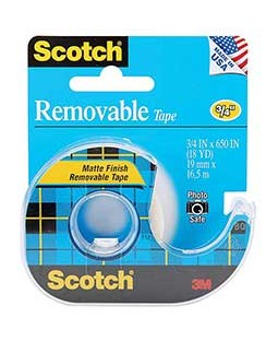 Scotch Removable Tape - 3M-224