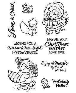 Charlotte & Charley Gift Clear Stamp Set - 11320MC