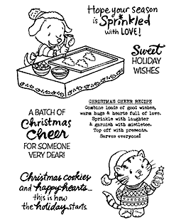 Cocoa & Cinnamon Baking Clear Stamp Set - 11319MC