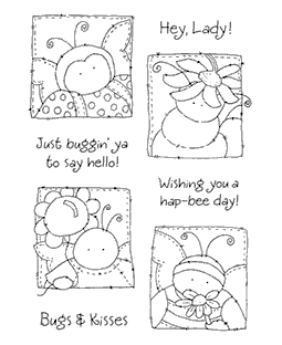 Buggie Friends Clear Stamp Set 10989MC