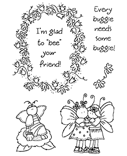 Bumblebee Buddies Clear Stamp Set 11292MC