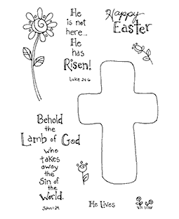 Groovy Crosses Clear Stamp Set 11092MC