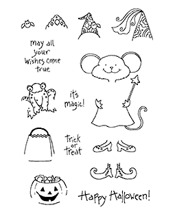 Halloween Millie Clear Stamp Set 10995MC