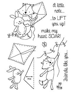 Kite Buddies Clear Stamp Set 11216MC