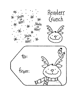 Reindeer Crunch Clear Stamp Set 10941SC