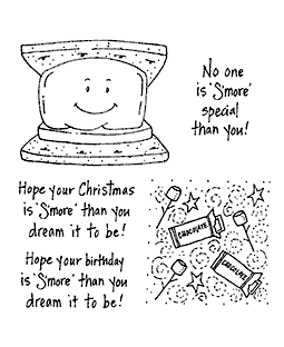 S'more Clear Stamp Set 10942SC